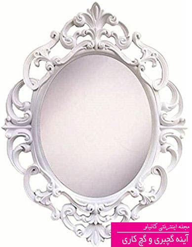 گچبری آینه کاری - ابزار دور آینه