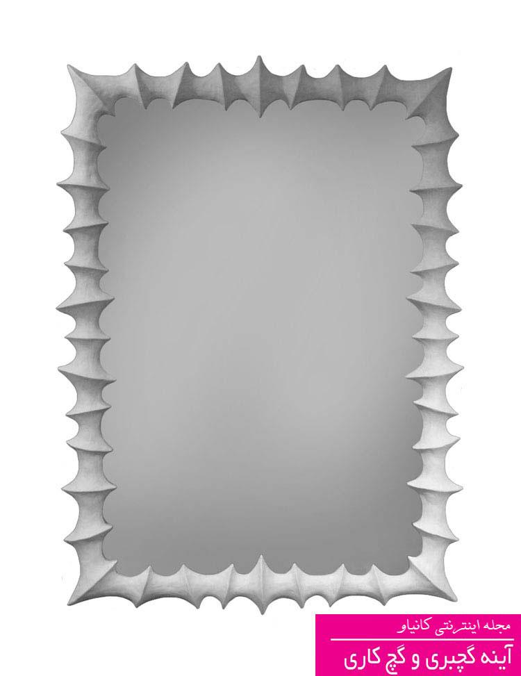 ابزار دور آینه - عکس گچبری آینه جدید