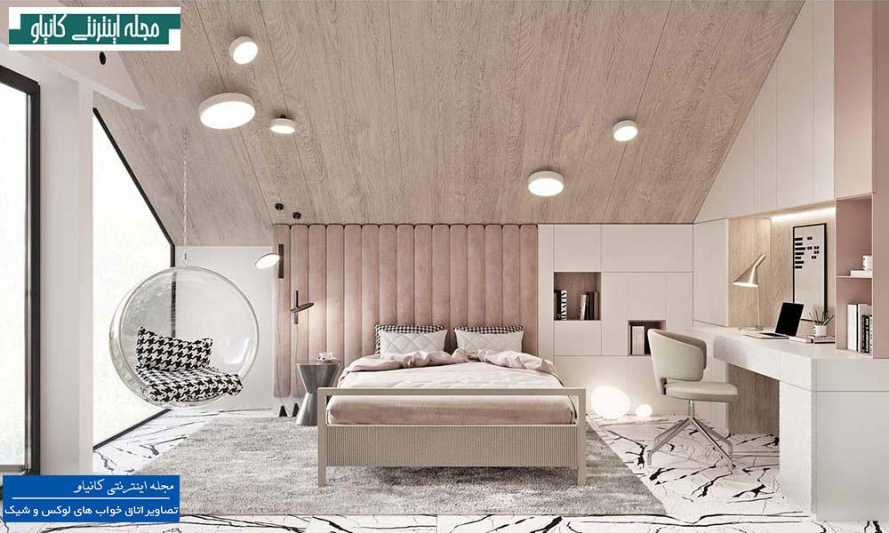 طراحی اتاق خواب مجلل مناسب برای سنین مختلف