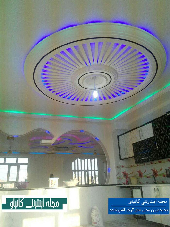گچبری سقف پذیرایی کلاسیک - طرح گچبری سقف اتاق خواب - شابلون گچبری - گچبری دیوار