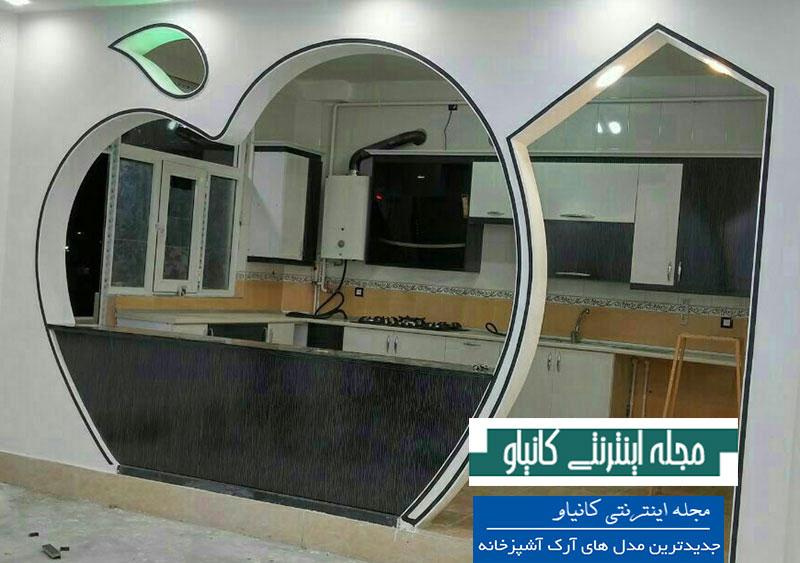 گچبری سقف پذیرایی - گچ کاری روی دیوار - گچ کاری سقف آشپزخانه - قیمت گچبری