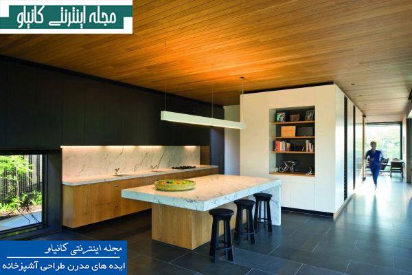 ایده های طراحی آشپزخانه مدرن طراحی