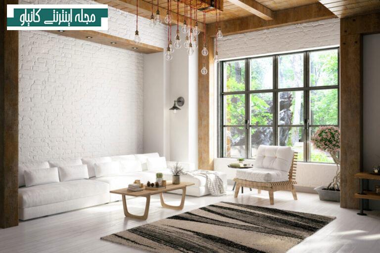 """از دیوار پنجره خود به عنوان """"اثر هنری"""" برای فضای داخلی خود استفاده کنید"""