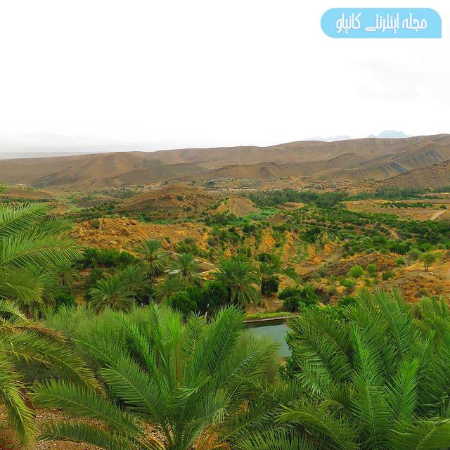 روستای هماگ طبیعتی بی نظیر و زیبا در دل هرمزگان